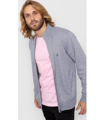 campera gris wellington polo club
