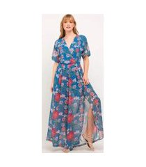 macacão elora pantalon floral feminino