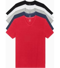 calvin klein men's 5-pk. classic v-neck undershirts