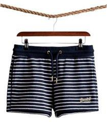 superdry women's orange label classic shorts