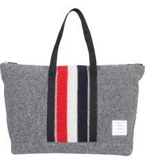 thom browne medium tote bag