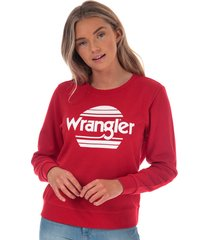 womens crew sweatshirt