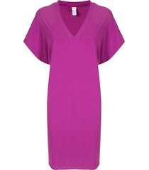 eres renée tunic dress - purple