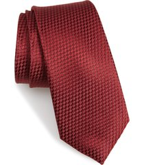 men's nordstrom lozardi tie, size regular - red