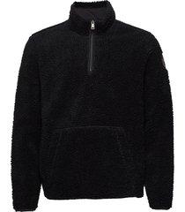 teide 2 hz sweat-shirt trui zwart napapijri