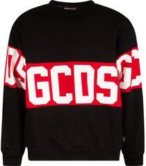 gcds mid logo print sweatshirt