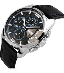 análogo reloj caballero skmei multi-dials clásico casual