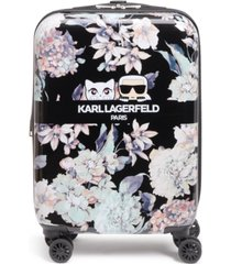 "karl lagerfeld paris karlflauge 21"" hardside carry-on spinner"