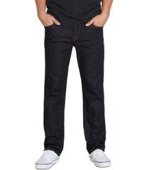 volcom men's modern-fit solver stretch jeans