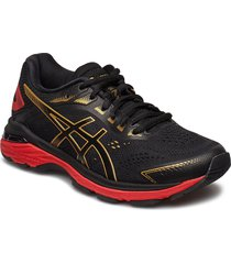 gt-2000 7 shoes sport shoes running shoes svart asics