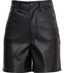nanushka leana shorts in vegan leather