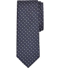 corbata melange dot azul brooks brothers