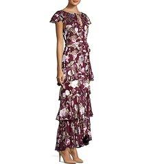 jenny flutter sleeve ruffle dress