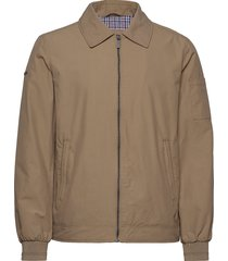 collared harrington bomberjacka jacka brun superdry