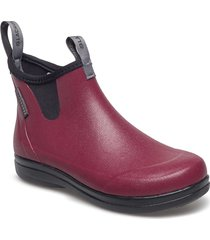 hampton ii women's 6 regnstövlar skor röd lacrosse