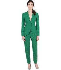 spodnie cygaretki zielone