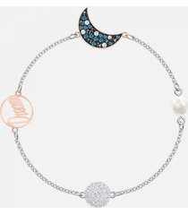 pulsera swarovski mujer crystal strand 5490934, multicolor