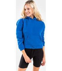 prestin active fleece hoodie - blue