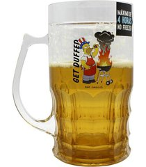 caneca de chopp homer simpsons churrasqueira 500 ml - caneca de chopp homer simpsons churrasqueira 500 ml
