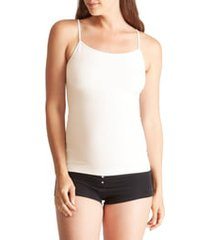 women's ingrid & isabel 'everyday' seamless maternity camisole, size 3 (fits like 16-22us / 18-20w) - white