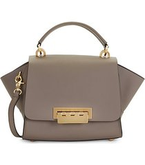eartha leather top handle crossbody bag