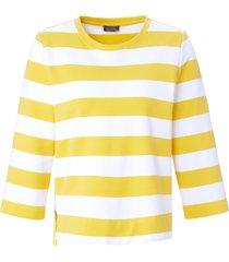 sweatshirt 3/4-mouwen van mybc wit