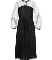 marco de vincenzo lurex pleated dress