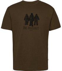 invisibles t-shirt t-shirts short-sleeved grön wood wood
