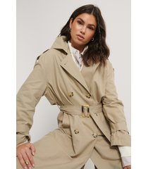 mango trenchcoat - grey