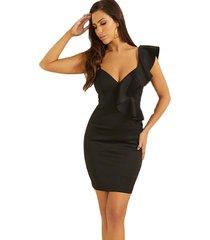 vestido sl daniela dress negro guess