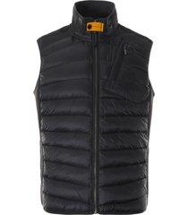 parajumpers zavier vest jacket  black   pmjckwu03-blk