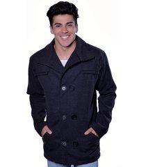 casaco blazer carbella lã batida preto
