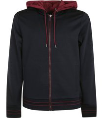 michael kors hooded zip jacket