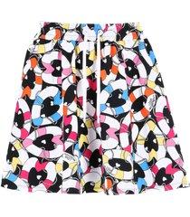 love moschino cotton skirt