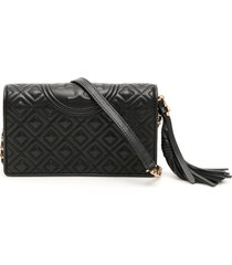 tory burch matelasse fleming clutch