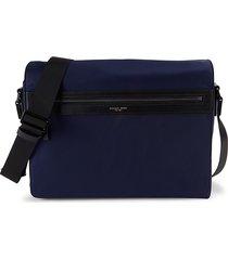 michael kors men's parker nylon messenger bag - indigo