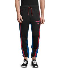 cult of individuality men's biker's track pants - black - size s
