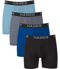 hanes platinum comfort flexfit total support pouch boxer briefs