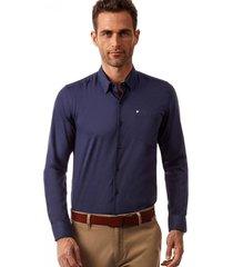 camisa manga larga berlin azul new man