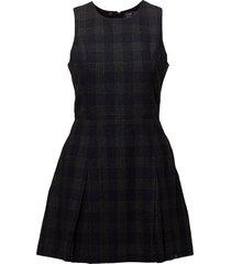 georgie shift dress kort klänning svart superdry