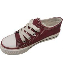 zapatillas lona burdeo vinnys outlet