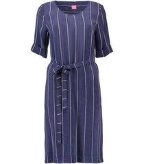 jurk strepen blauw