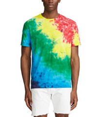 polo ralph lauren men's classic-fit tie-dye t-shirt