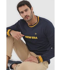 camiseta new era branded azul-marinho - azul marinho - masculino - dafiti