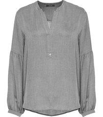 opus blouse friva heringbone