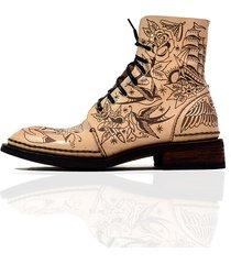 buty ręcznie szyte skóra grawer essox