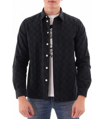 paul smith casual shirt - dark navy a20670-49