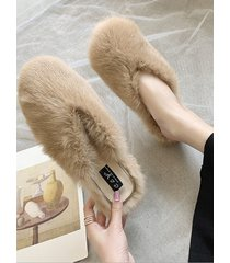 casual sheer flat slippers