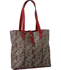 alabama crimson tide licensed toasty handbag