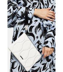 axel white pouch bag - white